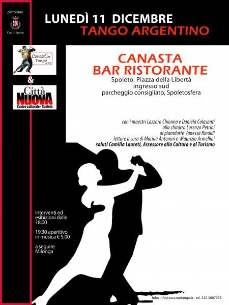 <!--:it-->Tango Argentino<!--:--><!--:en-->Argentine Tango<!--:--> @ Bar Canasta | Spoleto | Umbria | Italia
