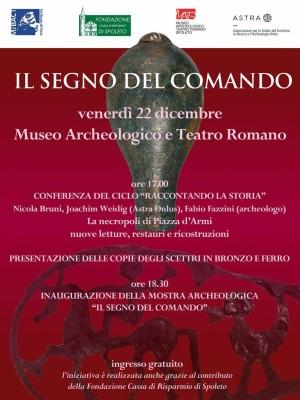 <!--:it-->RACCONTANDO LA STORIA - IL SEGNO DEL COMANDO<!--:--> @ Museo Archologico Nazionale | Spoleto | Umbria | Italia