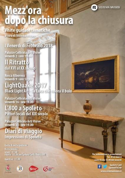<!--:it-->Mezz'ora dopo la chiusura - Il Ritratto. Dal XVI al XX secolo<!--:--><!--:en-->Mezz'ora dopo la chiusura - The Portrait: From XVI to XX century<!--:--> @ Palazzo Collicola Arti Visive | Spoleto | Umbria | Italia