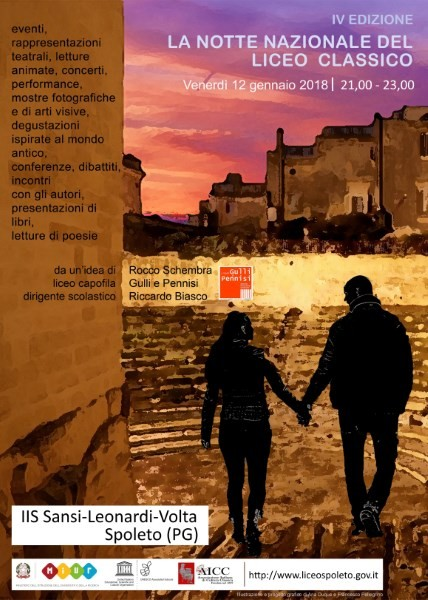 <!--:it-->La Notte Nazionale del Liceo Classico<!--:--><!--:en-->National Night of Liceo Classico<!--:--> @ IIS Sansi-Leonardi-Volta | Spoleto | Umbria | Italia