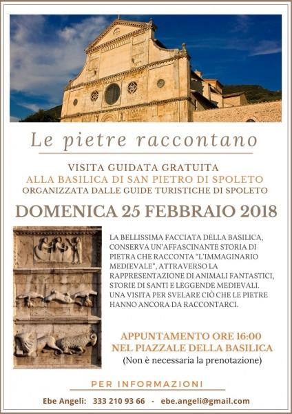 <!--:it-->LE PIETRE RACCONTANO - Visita guidata alla Basilica di San Pietro<!--:--><!--:en-->STONES TELLING STORIES - Guided visit to the Basilica of San Pietro<!--:--> @ Basilica di San Pietro | Umbria | Italia