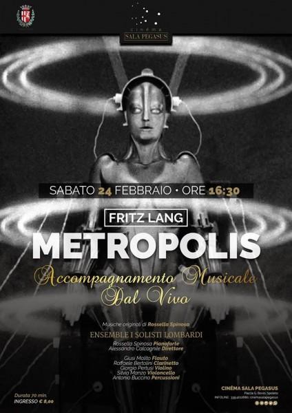 <!--:it-->METROPOLIS di Fritz Lang - con accompagnamento musicale dal vivo<!--:--><!--:en-->Fritz Lang's METROPOLIS - featuring live music performance<!--:--> @ Cinéma Sala Pegasus | Spoleto | Umbria | Italia