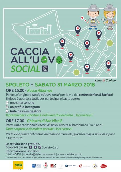 <!--:it-->CACCIA ALL'UOVO SOCIAL<!--:--><!--:en-->EASTER EGG HUNT<!--:--> @ Rocca Albornoz e Chiostro di San Nicolò | Spoleto | Umbria | Italia