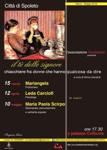 <!--:it-->Il tè delle signore - Chiacchiere fra donne che hanno qualcosa da dire<!--:--> @ Palazzo Collicola | Spoleto | Umbria | Italia