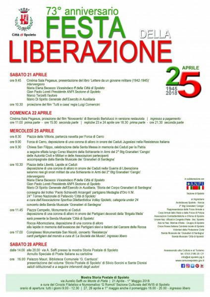 <!--:it-->25 aprile – 73° festa della Liberazione<!--:--><!--:en-->25 April – 73rd Liberation Day<!--:--> @ Spoleto