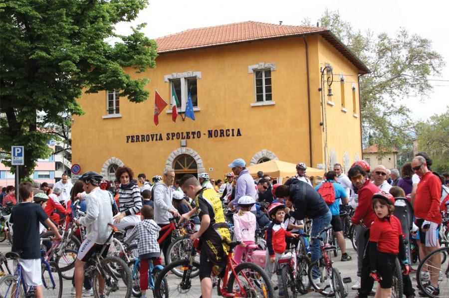 <!--:it-->La Spoleto in Bici 2018<!--:--><!--:en-->Spoleto by bike 2018<!--:--> @ Museo della Vecchia Ferrovia Spoleto-Norcia | Spoleto | Umbria | Italia