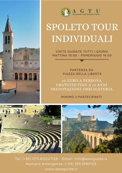 <!--:it-->Tour individuali di Spoleto<!--:--><!--:en-->Individual walking tours of Spoleto<!--:--> @ Spoleto, partenza da Piazza della Libertà | Spoleto | Umbria | Italia