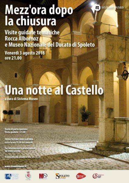 <!--:it-->Mezz'ora dopo la chiusura - UNA NOTTE AL CASTELLO<!--:--> @ Rocca Albornoz - Museo Nazionale del Ducato | Spoleto | Umbria | Italia