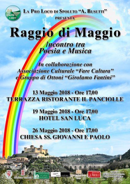 <!--:it-->Raggio di Maggio - Incontro tra Poesia e Musica<!--:--> @ Hotel San Luca | Spoleto | Italia