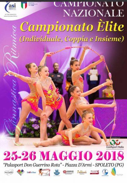 <!--:it-->Campionato Nazionale Elite e Grand Prix delle Società di Ginnastica Ritmica<!--:--> @ PalaRota | Spoleto | Umbria | Italia