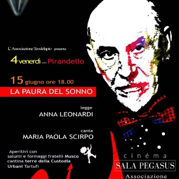 <!--:it-->Hot Anthology – Anna Leonardi legge 'La Paura del Sonno' di Pirandello<!--:-->