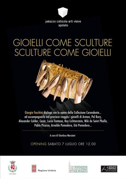 <!--:it-->GIOIELLI COME SCULTURE / SCULTURE COME GIOIELLI - Mostra<!--:--><!--:en-->JEWELS AS SCULPTURES / SCULPTURES AS JEWELS<!--:--> @ Palazzo Collicola Arti Visive | Spoleto | Umbria | Italia