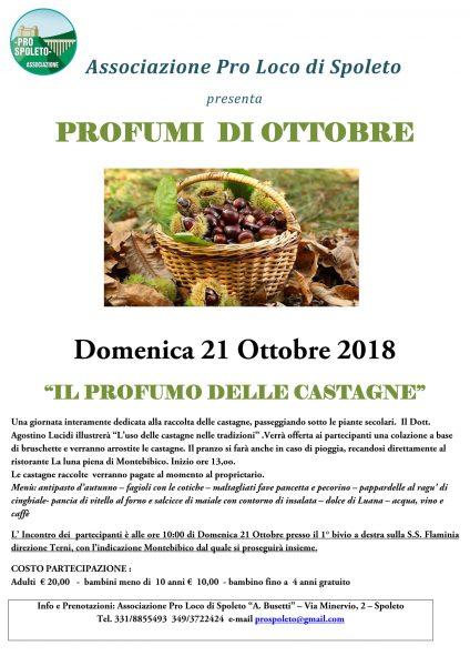 <!--:it-->PROFUMI DI OTTOBRE - Il Profumo delle Castagne<!--:--> @ Montebibico | Montebibico | Umbria | Italia