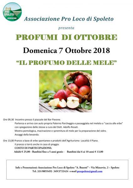 <!--:it-->PROFUMI DI OTTOBRE - Il Sapore delle Mele<!--:--> @ Spoleto - Paterno | Spoleto | Umbria | Italia