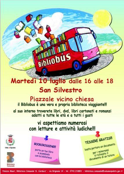 <!--:it-->Il BIBLIOBUS fa tappa a San Silvestro<!--:--> @ San Silvestro - Piazzale vicino alla chiesa | San Silvestro | Umbria | Italia