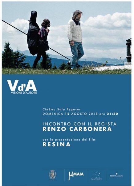 "<!--:it-->Visioni d'Autore - Presentazione film RESINA con il regista Renzo Carbonera<!--:--><!--:en-->""Visioni d'autore"" with filmmaker Renzo Carbonera<!--:--> @ Cinéma Sala Pegasus | Spoleto | Umbria | Italia"