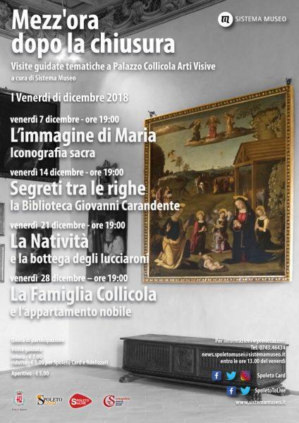 <!--:it-->Mezz'ora dopo la chiusura - La Natività e la bottega degli Iucciaroni<!--:--> @ Palazzo Collicola Arti Visive | Spoleto | Umbria | Italia