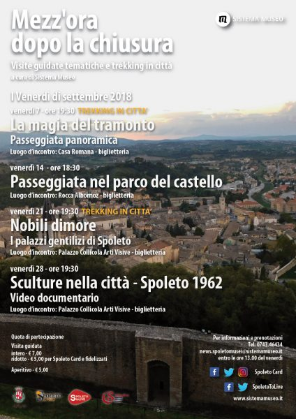 <!--:it-->Mezz'ora dopo la chiusura - SCULTURE NELLA CITTÀ – SPOLETO 1962 Video Documentario<!--:--><!--:en-->Mezz'ora dopo la chiusura - SCULPTURES IN THE CITY Documentary video<!--:--> @ Palazzo Collicola Arti Visive | Spoleto | Umbria | Italia