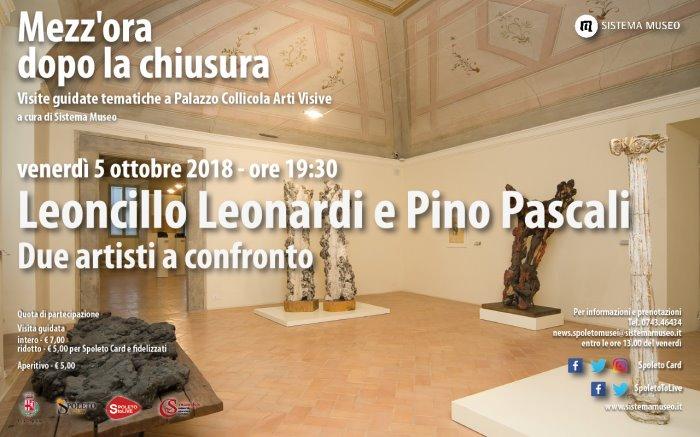 <!--:it-->Mezz'ora dopo la chiusura - Leoncillo Leonardi e Pino Pascali Due artisti a confronto<!--:--><!--:en-->Mezz'ora dopo la chiusura - Leoncillo Leonardi and Pino Pascali<!--:--> @ Palazzo Collicola Arti Visive | Spoleto | Umbria | Italia