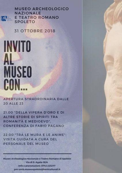 <!--:it-->Invito al Museo con...<!--:--> @ Museo Archeologico Nazionale e Teatro Romano  | Spoleto | Umbria | Italia