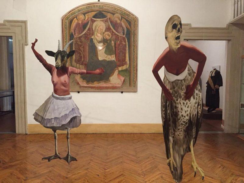 <!--:it-->CHIMERACAROUSEL - Installazione di Jeffrey Isaac<!--:--> @ Museo del Tessuto e del Costume - Palazzo Rosari Spada | Spoleto | Umbria | Italia
