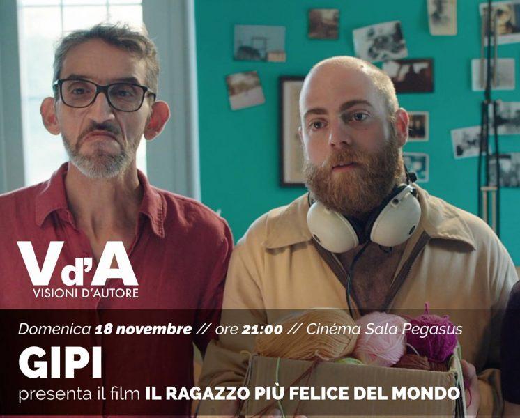 <!--:it-->Visioni d'Autore: GIPI presenta IL RAGAZZO PIU' FELICE DEL MONDO<!--:--> @ Cinéma Sala Pegasus