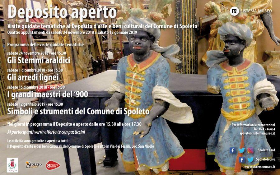 <!--:it-->DEPOSITO APERTO - Visite guidate al Deposito d'arte e beni culturali del Comune di Spoleto <!--:--> @ Deposito d'arte e beni culturali del Comune di Spoleto