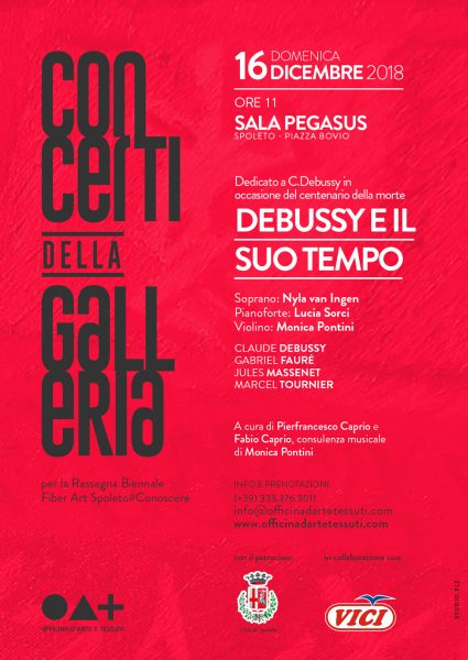 <!--:it-->Debussy e il suo tempo - Concerto nel centenario della morte di C. Debussy<!--:--><!--:en-->Tribute to Claude Debussy on the Centenary of his Death<!--:--> @ Cinema Sala Pegasus