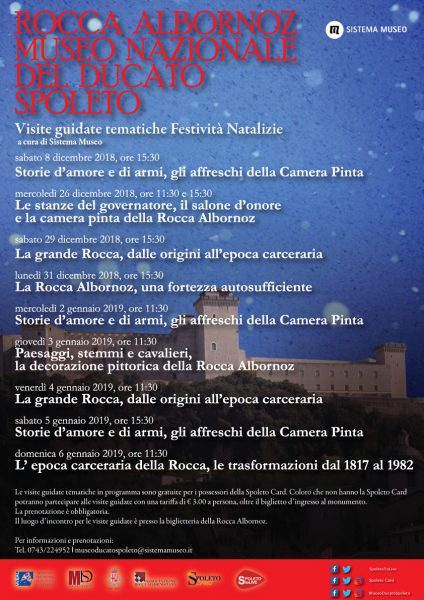 <!--:it-->Visite Guidate Tematiche Festività Natalizie | Rocca Albornoz - Museo Nazionale del Ducato<!--:--><!--:en-->Christmas Thematic Guided Tours| Rocca  Albornoz - National Museum of the Duchy<!--:-->