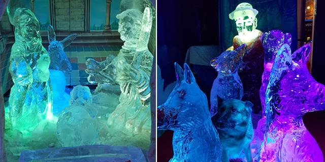 <!--:it-->Gli Scultori del Ghiaccio mostrano come nasce una scultura di ghiaccio<!--:--> @ Piazza Pianciani