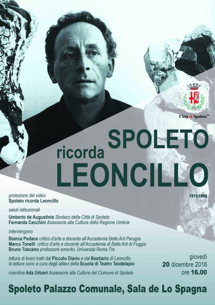 <!--:it-->La Città di Spoleto ricorda LEONCILLO<!--:--><!--:en-->SPOLETO CELEBRATES LEONCILLO<!--:--> @ Palazzo Comunale
