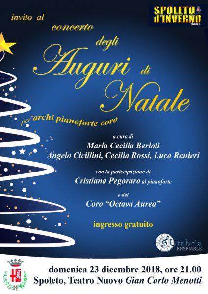 <!--:it-->CONCERTO DEGLI AUGURI DI NATALE a cura di UmbriaEnsemble<!--:--><!--:en-->CHRISTMAS GREETINGS CONCERT by UmbriaEnsemble<!--:--> @ Teatro Nuovo Gian Carlo Menotti