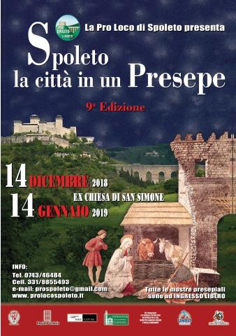 <!--:it-->SPOLETO, LA CITTÀ IN UN PRESEPE - 9^ edizione<!--:--> @ Ex Chiesa di San Simone