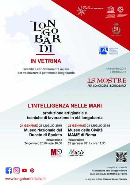 <!--:it-->MOSTRA | L'intelligenza nelle mani - Produzione artigianale e tecniche di lavorazione in età longobarda<!--:--><!--:en-->EXHIBITION | Manual Intelligence: Craft Production and Techniques in the Lombard Period<!--:--> @ Museo Nazionale del Ducato di Spoleto