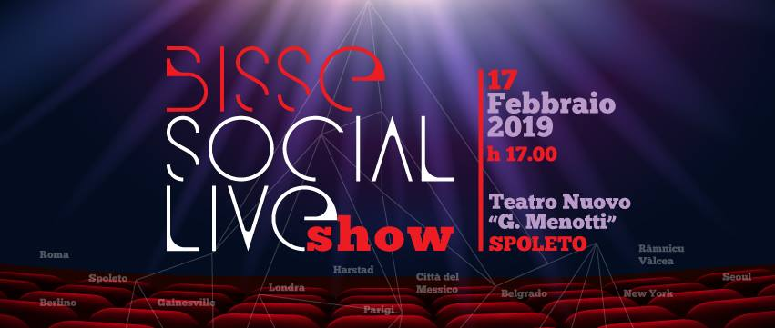 <!--:it-->Bisse Social Live Show<!--:--><!--:en-->Bisse Social Live Show<!--:--> @ Teatro Nuovo Gian Carlo Menotti