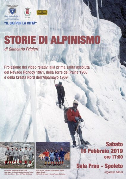 <!--:it-->Il CAI per la città | STORIE DI ALPINISMO<!--:--><!--:en-->The Italian Alpine Club for the City - Stories of Alpinism<!--:--> @ Sala Frau
