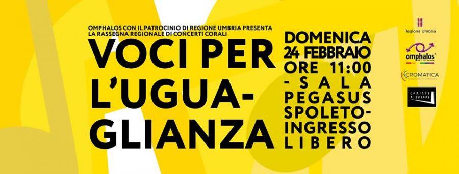<!--:it-->VOCI PER L'UGUAGLIANZA - Rassegna Regionale di Concerti Corali<!--:--><!--:en-->Voices For Equality - Choir Concerts<!--:--> @ Cinéma Sala Pegasus