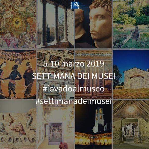 <!--:it-->SETTIMANA DEI MUSEI<!--:--> @ Rocca Albornoz - Museo del Ducato, Museo Archeologico, Tempietto sul Clitunno