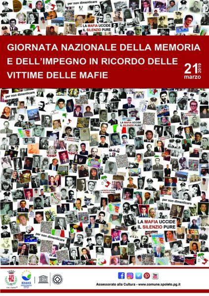 <!--:it-->GIORNATA NAZIONALE DELLA MEMORIA E DELL'IMPEGNO CONTRO LE MAFIE <!--:--> @ Spoleto
