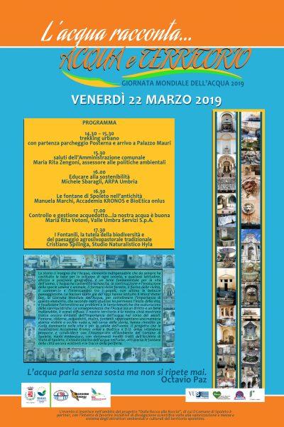 <!--:it-->GIORNATA MONDIALE DELL'ACQUA 2019 - L'acqua racconta… ACQUA e TERRITORIO<!--:--> @ Palazzo Mauri