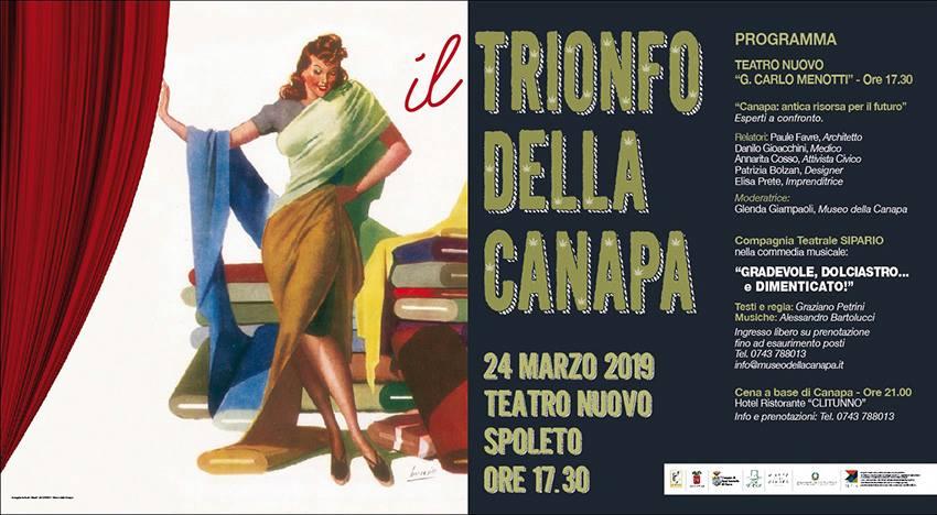 <!--:it-->IL TRIONFO DELLA CANAPA<!--:--> @ Teatro Nuovo Gian Carlo Menotti