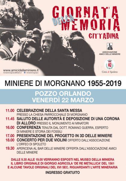 <!--:it-->MINIERE DI MORGNANO 1955-2019 Giornata della Memoria Cittadina<!--:--> @ Morgnano - Museo delle Miniere
