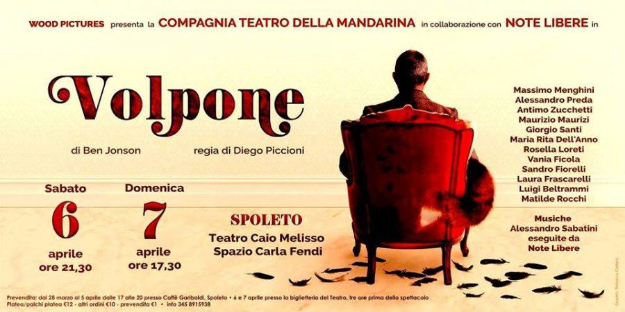 <!--:it-->VOLPONE di Ben Johnson<!--:--> @ Teatro Caio Melisso – Spazio Carla Fendi