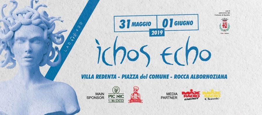 <!--:it-->ICHOS ECHO - Music Art Experience<!--:--> @ Villa Redenta, Piazza del Comune, Rocca Albornoziana