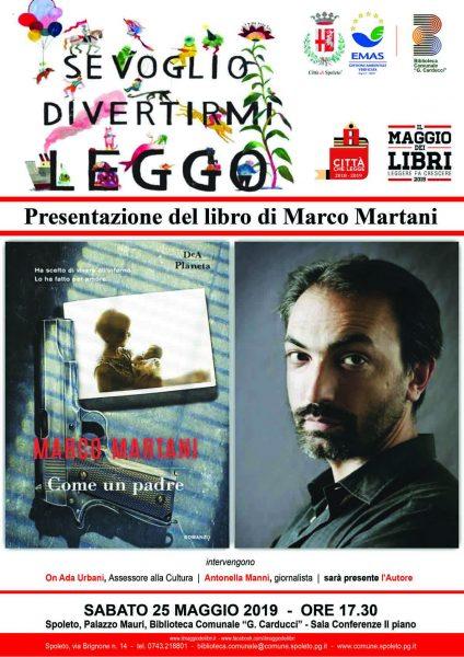 <!--:it-->Presentazione del libro COME UN PADRE di Marco Martani<!--:--> @ Biblioteca Comunale G. Carducci