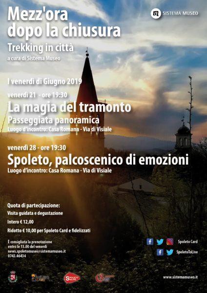 <!--:it-->Mezz'ora dopo la chiusura | LA MAGIA DEL TRAMONTO Passeggiata panoramica<!--:--><!--:en-->Mezz'ora dopo la chiusura | THE MAGIC OF SUNSET Panoramic walk<!--:--> @ Casa Romana
