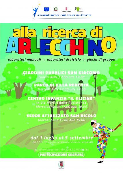 <!--:it-->ALLA RICERCA DI ARLECCHINO...  laboratori e giochi di gruppo per bambini e genitori<!--:--> @ Giardini pubblici di San Giacomo, centro infanzia IL GLICINE, verde attrezzato di San Nicolò