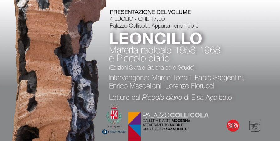 <!--:it-->Presentazione del volume LEONCILLO. MATERIA RADICALE<!--:--><!--:en--> LEONCILLO. MATERIA RADICALE | Book Presentation<!--:--> @ Palazzo Collicola