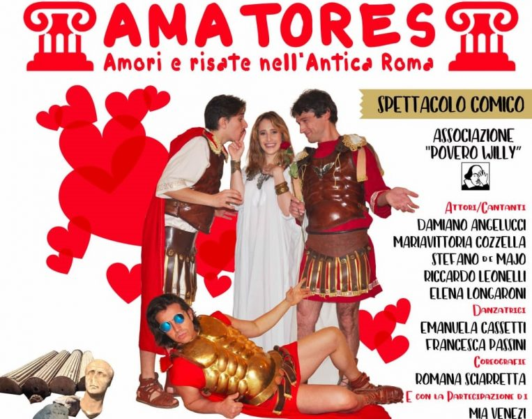 <!--:it-->AMATORES | Amore e risate nell'Antica Roma<!--:--><!--:en-->AMATORES | Loves and laughs in Ancient Rome<!--:--> @ Teatro Caio Melisso