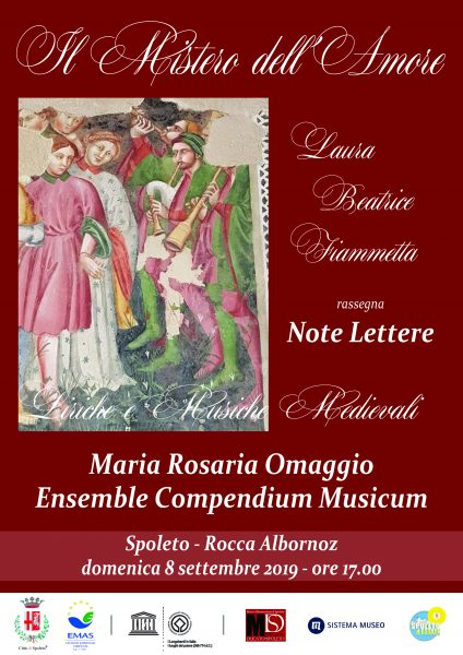 <!--:it-->Il mistero dell'amore: Laura, Beatrice e Fiammetta<!--:--><!--:en-->The mystery of love: Laura, Beatrice and Fiammetta<!--:--> @ Rocca Albornoz